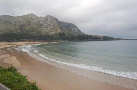Playa de Islares, sencillamente maravilloso.