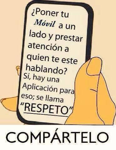 móvil y respeto